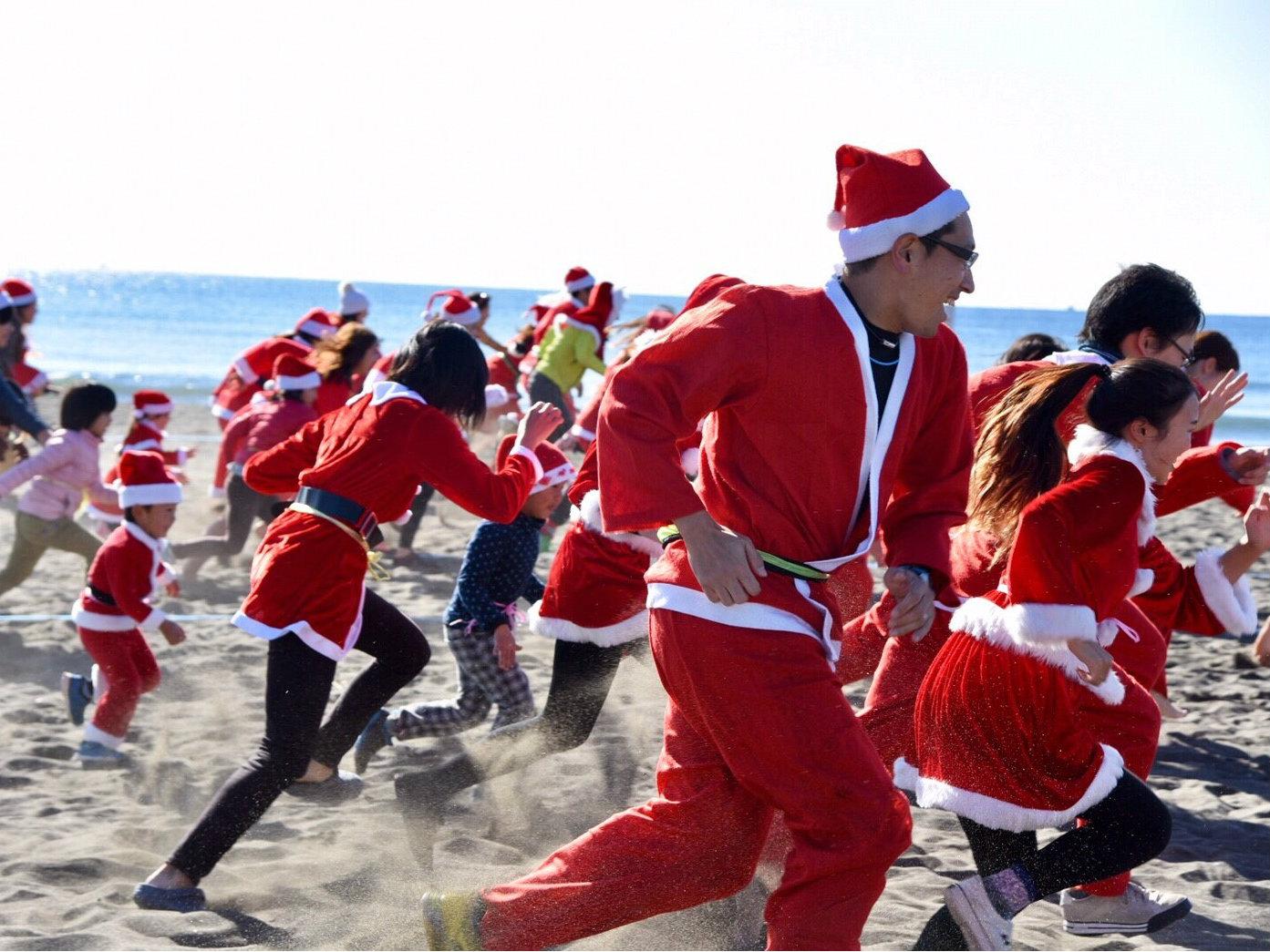 写真で振り返るクリスマス運動会~サンタの恰好で大集合~