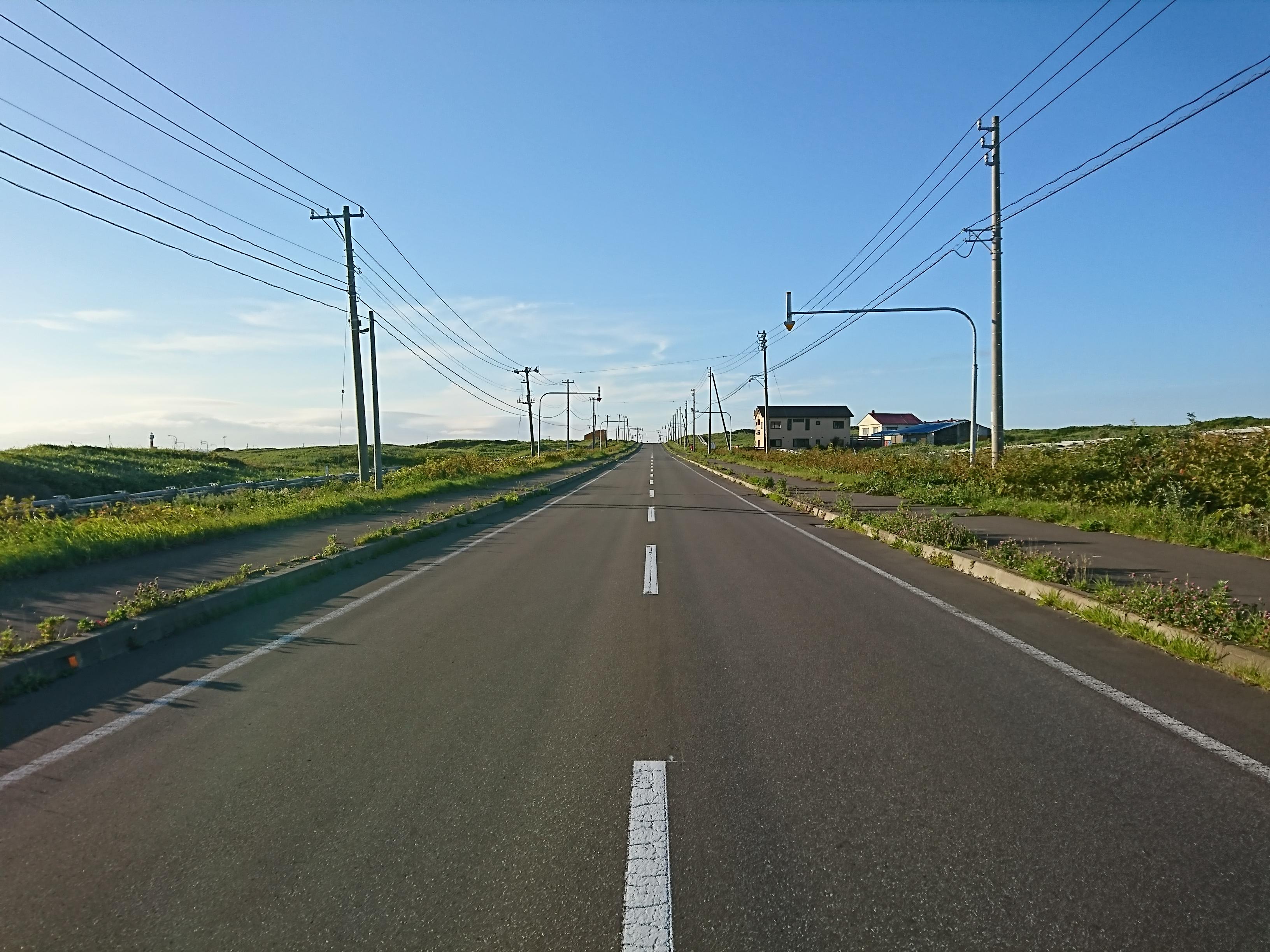 利尻島を自転車でぐるっと1周してきました!!