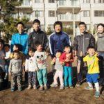 うみべのサッカークラブの「新年初蹴り」に参加しました!