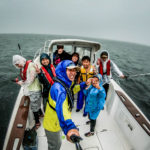 烏帽子岩周辺へ!船からの釣りにHONKIで挑戦!