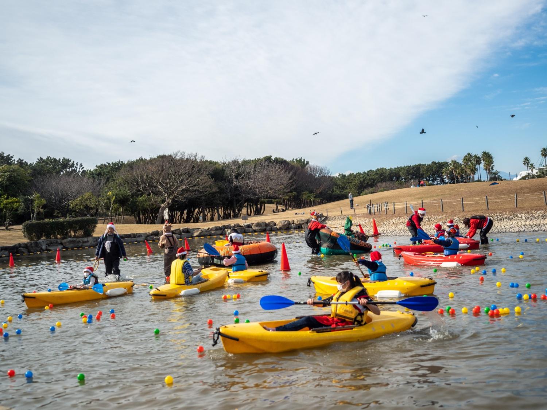 サンタとユニバーサルカヌーで本気で遊ぶ2020!を開催しました!