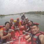 【ウガンダ旅行6日目】HONKIでクレイジーなナイル川でのラフティング!!