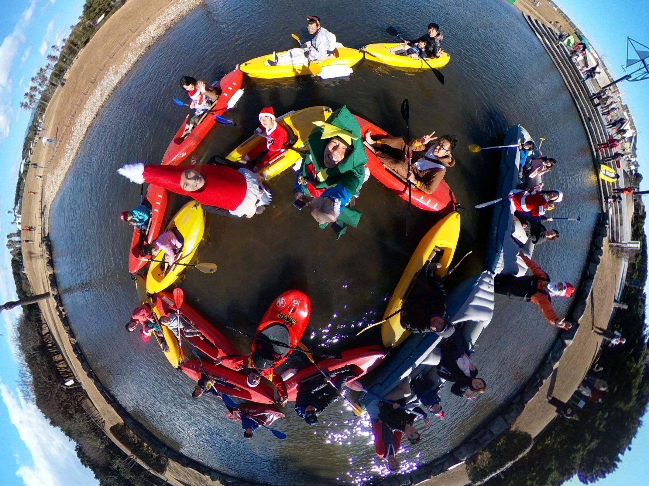 4月22日(日)からユニバーサルカヌー体験会が始まります!!