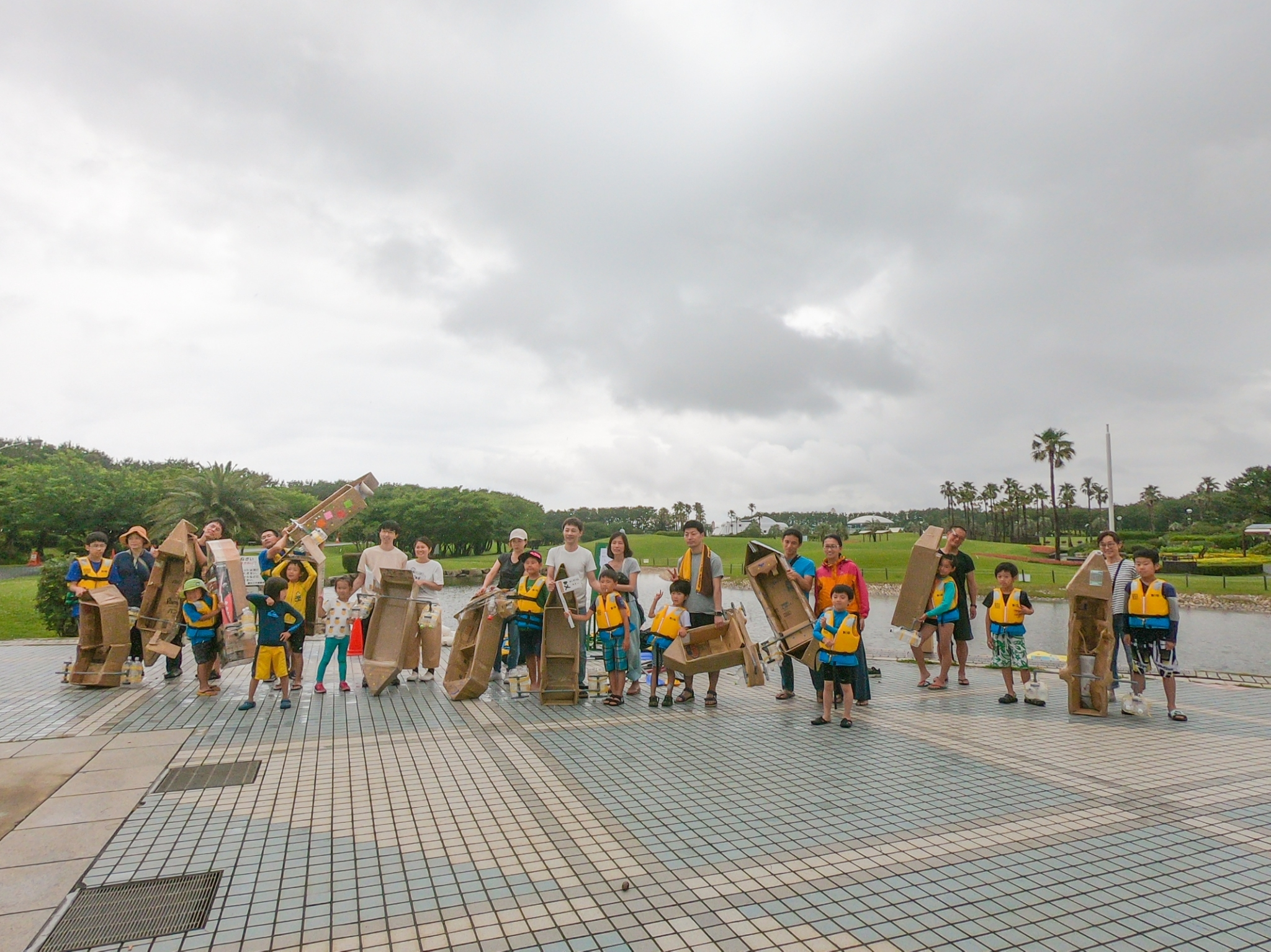 東京オリンピックカヌー・スラロームセンターでラフティング!