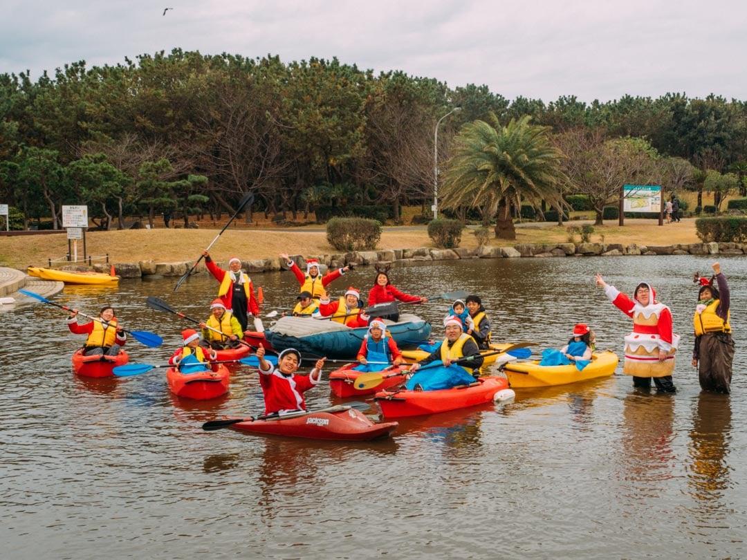 サンタカヌー2019を開催しました!